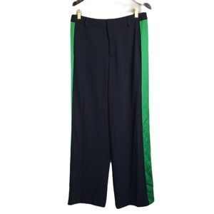 NWT Ralph Lauren Navy Green Side Strip Dress Pants